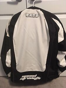 Xl motorcycle jacket with pads