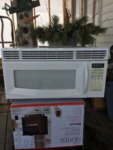 Microwave with fan