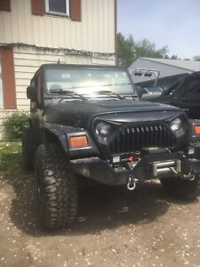 4.0l engine and transmission from 2000 Jeep tj