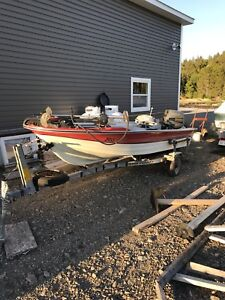 16' Cadormat Fibreglass Fishing Boat