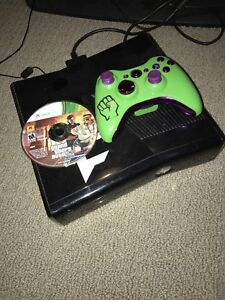 Xbox 360 with modded controller