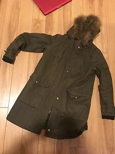 forever 21 parka!! Really cheap!