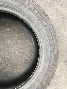 Good Year ultra grip winter tires in excellent condition.