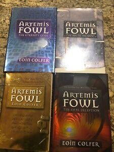 Artemis Fowl Hardcover Books