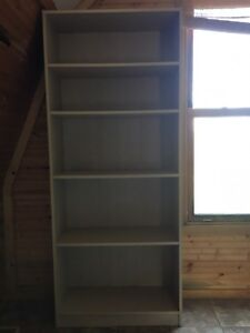 Beech Shelving unit bookcase