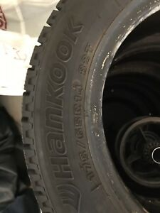 4x Hankook i*Pike RC01 Winter Tires 14""