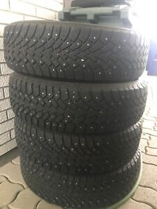 Goodyear Nordic Winter Tires with studs 235/65R17