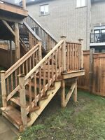 Deck,Shed Restoration,Garage Shelving