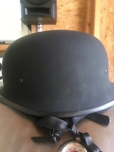 German style helmet size XXL with quick connect