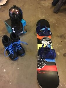 Snowboarding equipment barley used for 200 OBO