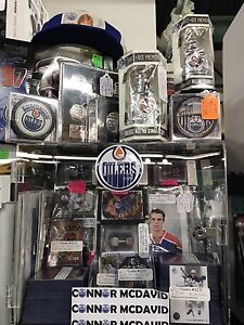 CONNOR MCDAVID Hockey Cards Boxes Eskimos Signed GRETZKY OILERS