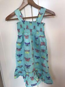 BNWT girls summer dress size small (6/7)
