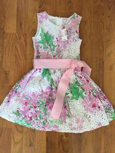Dress- Floral Eyelet  —Sold