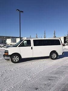 2013 GMC Savana All Wheel Drive  8 Passenger Van