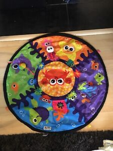 Tummy time activity pad