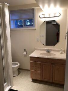 University basement suite for rent