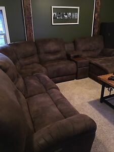 Lazy boy sectional