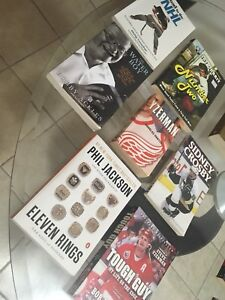Assorted Sports Books (Biographies)