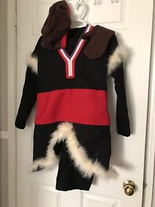 Sven costume with accessories from frozen