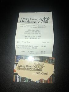 King College Bookstore Giftcard