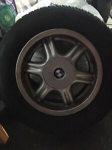 Oem BMW wheels with tires