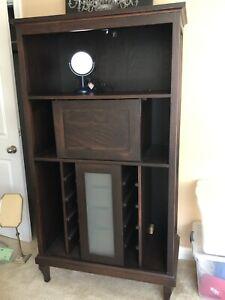 Printer stand/wine cabinet