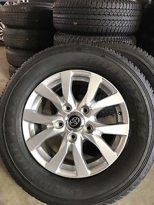 "18"" Toyota Sahara alloys South Toowoomba Toowoomba City Preview"
