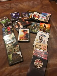 Assorted DVD's, movies and seasons