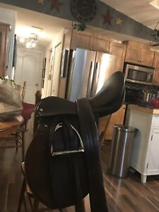 All purpose English saddle package