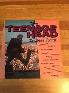 Record Album Teenage Head Live