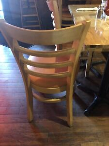 Chairs for sale in good shape