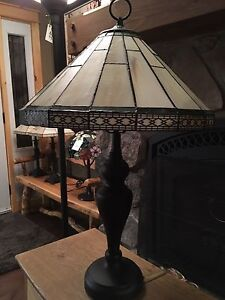 Roman style stained glass Lamp London Ontario image 1