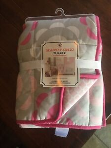 Happy chic Baby reversible quilt