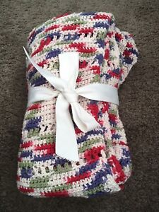 New! Twin Bed Size Knit Blanket