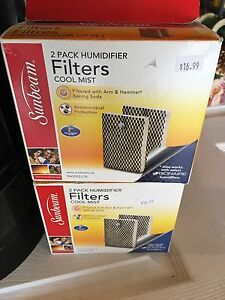 Humidifier Filters (2 Packages)