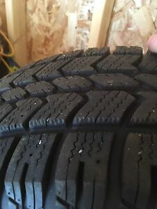Set of four 16 inch winter tires