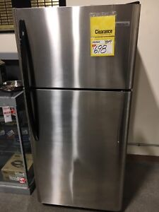 Stainless Steel Frigidaire Fridge FFTR184S