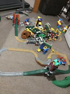 Fisher Price Geo Trax train set