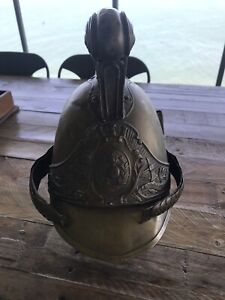 French Antique Fire Helmet Woody Point Redcliffe Area Preview
