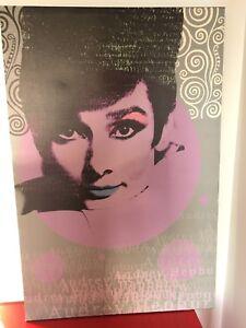 Cadre / toile Audrey Hepburn