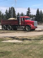 Dump truck services for all kind of work