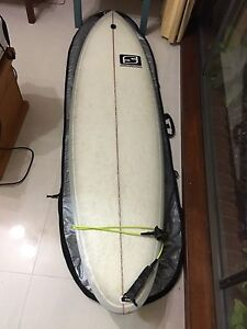"""7""""0 Jester Sideway Minimal surfboard Coopers Plains Brisbane South West Preview"""
