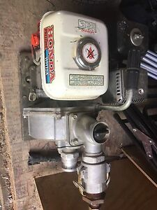 honda wh15x water pump