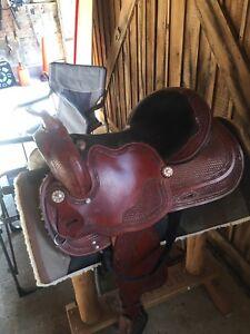 """Arizona saddlery 16"""" Western Saddle"""