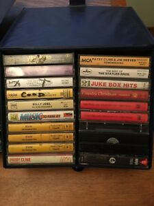Country, Christmas, & Pop Music Cassette Tapes