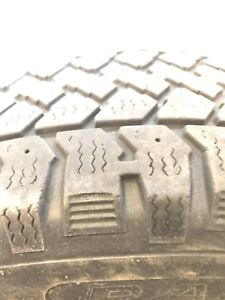 196/65R15 x4 winter tires for sale almost new