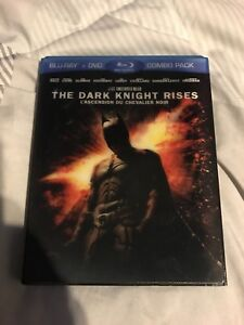 The Dark Knight Rises Blu-ray And DVD combo pack