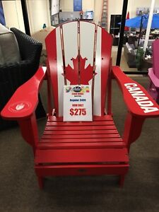 **BLOW OUT SALE** CANADA FLAG SPORTS CHAIR