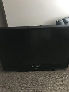 "61"" JVC rear projection HDTV w/hdmi"