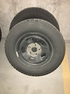 Ram winter wheels and tires 550 obo